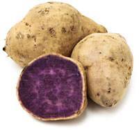 patate douce violet